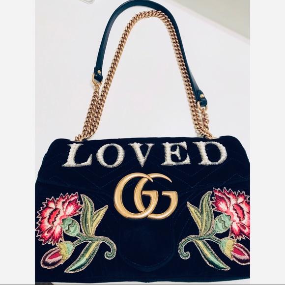 Gucci Handbags - 🔥GUCCI GG EMBROIDERED MARMONT